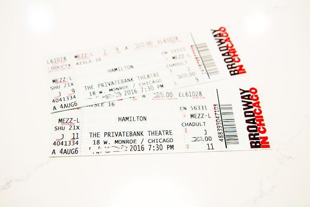 Hamilton Chicago Tickets