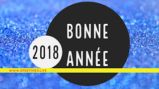 Happy New year in French Language bonne année