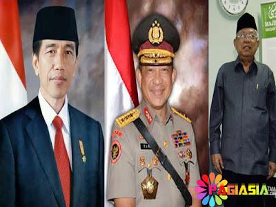 Presiden Joko Widodo, Politisi, Aparat Kepolisian sampai MUI Telah Meresmikan Perubahan Isi UU ITE