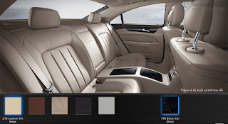 Nội thất Mercedes CLS 400 2018 màu Vàng Silk 245