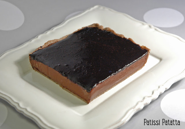 recette de tarte au chocolat, tarte au chocolat de Christian Constant, la meilleure tarte au chocolat, une tuerie de tarte au chocolat, la tarte au chocolat d'un chef,