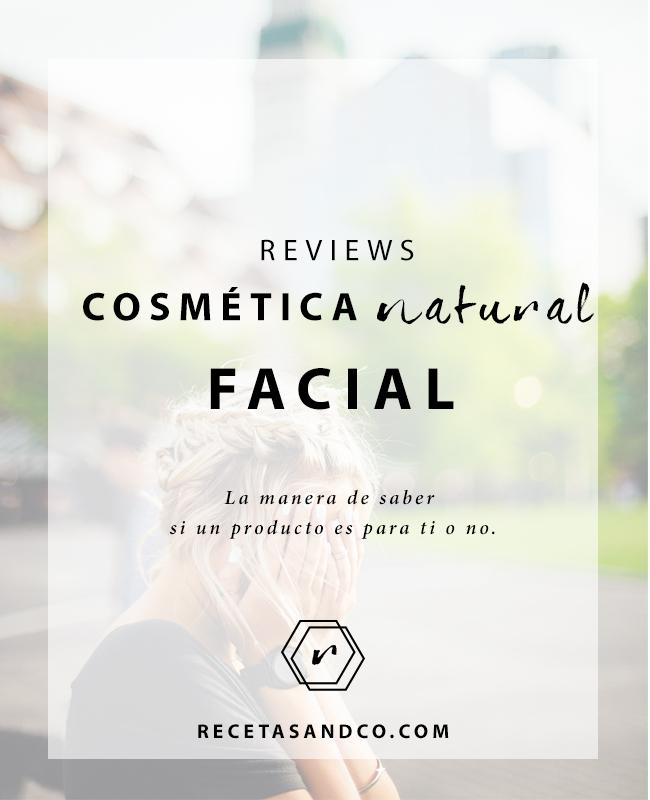 Opiniones Cosmética Natural Facial