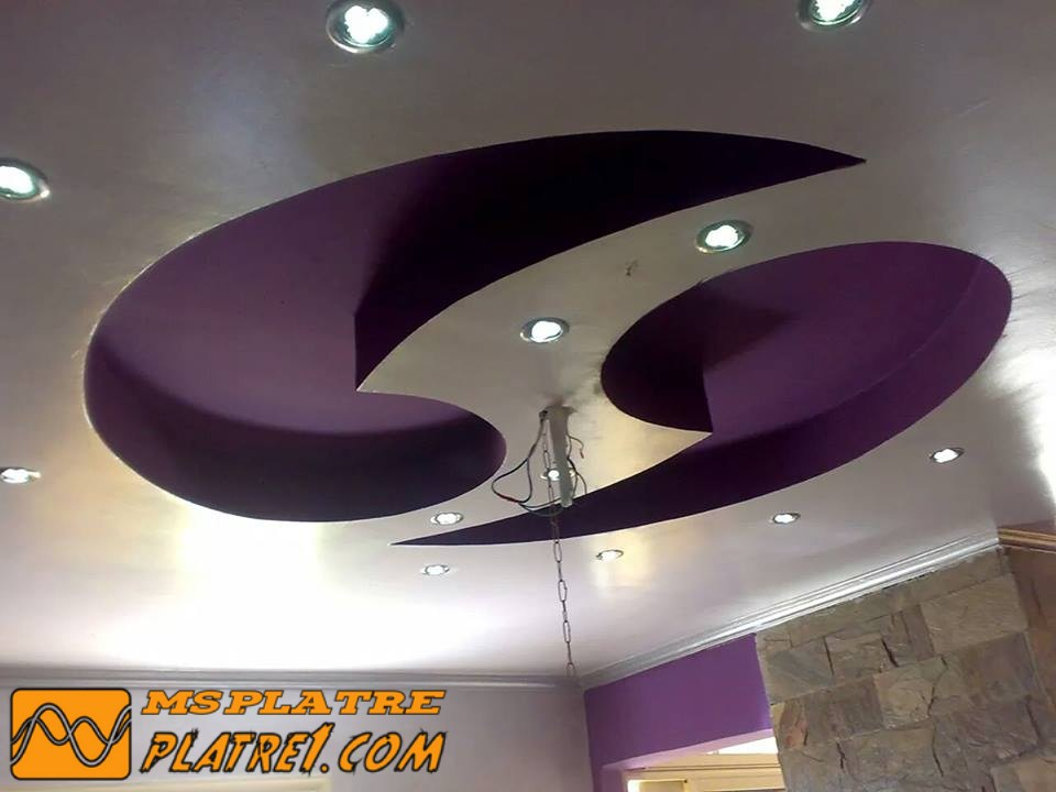 Decoration salon b13 for Dicor fou plafond