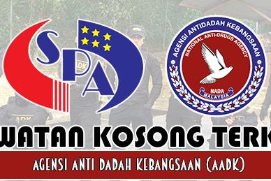 Jawatan Kosong Terkini AADK/KDN ~ 115 Kekosongan Agensi Antidadah Kebangsaan 2019 | Tarikh Tutup: 02 Jun 2019