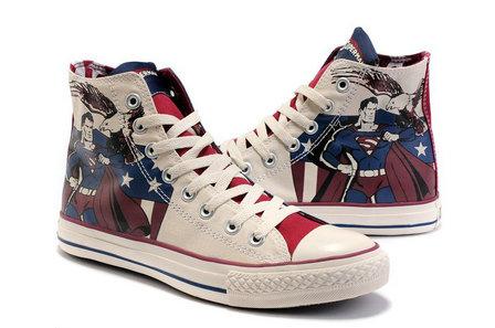 1362c7fcfa71 Nike Dunks Custom Design Sneakers   Converse High Top Superman Shoes ...