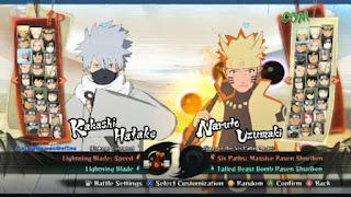 Kumpulan Sprite Naruto Shippuden Senki (Update November 2016)