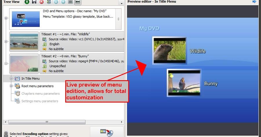 Soft downloads download vso convertxtodvd 5 3 full for Convertxtodvd menu templates