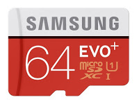 Samsung Micro SD EVO+ 64GB Memory Card