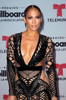 Sexy Jennifer Lopez stuns in See through dress at Billboard Latin Music Awards(photos)