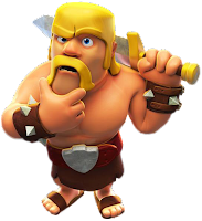 Barbarian, Coc, Clash od Clan