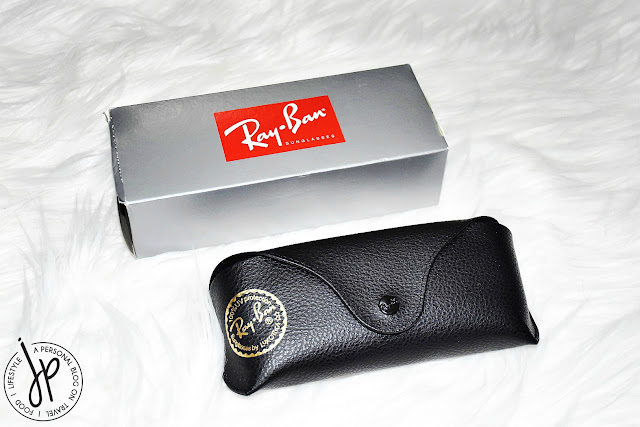 ray-ban box and case