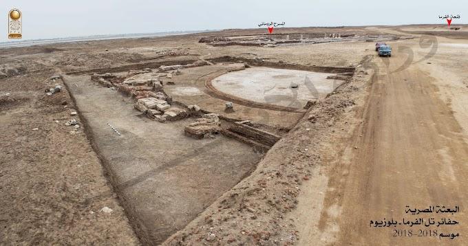 Βρέθηκε  μεγάλο δημόσιο κτήριο από την εποχή των Πτολεμαίων  στην Αίγυπτο