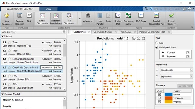 Feature Selection Matlab