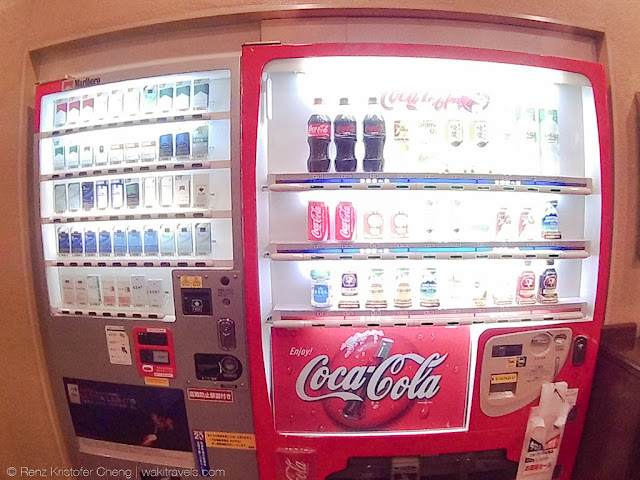 Vendo Machine in Business Hotel Nissei