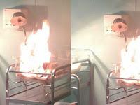 Tragis! Baru Lahir, Bayi Ini Tewas Terbakar Hidup-hidup di Inkubator, Begini Penyebabnya