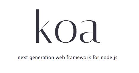 Giới thiệu Koa.js