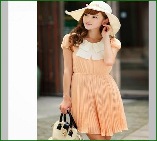 baju dress pendek