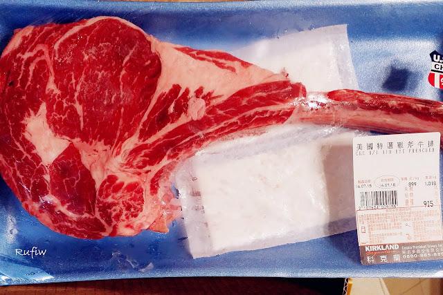 Tomahawk Steak Costco >> Rufiw: [玩食] Costco 戰斧牛排 Tomahawk Steak
