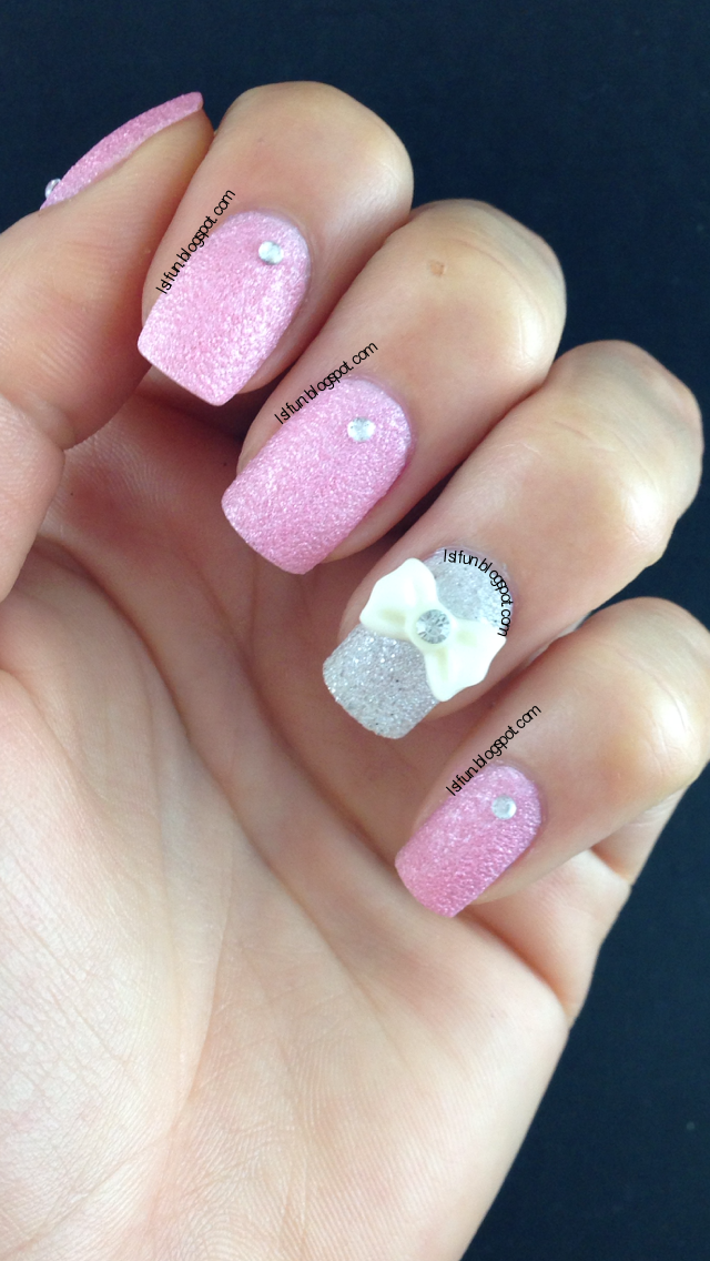 Trendy Gel Nail Design Ideas: LSL's FUN BLOG: Trendy Cute 3D Bow Nail Art On Gel And