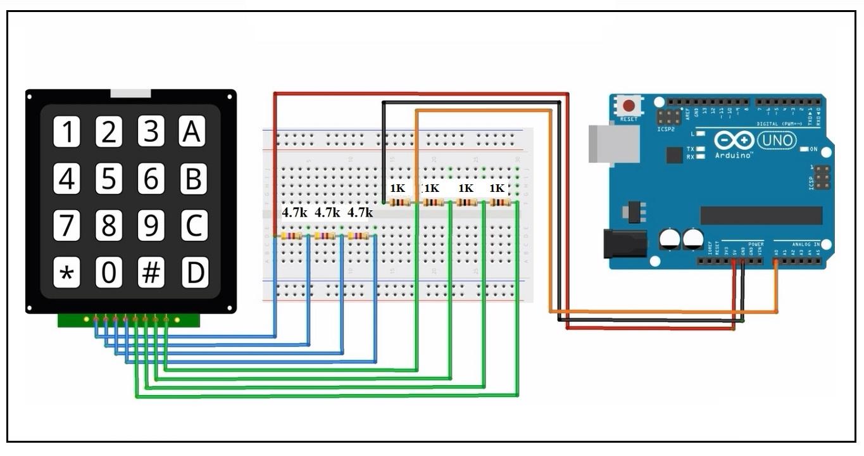 One single og pin keypad control using Arduino - Razib ... on