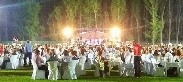 Το αδιαχώρητο σε γάμο με 3.000 καλεσμένους να γεμίζουν ένα ολόκληρο γήπεδο (βίντεο)