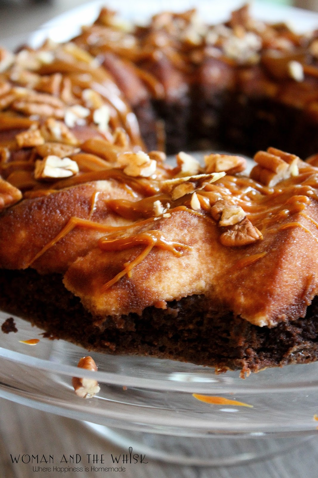 Woman And The Whisk Mexican Chocolate Flan Cake