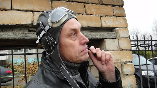 Шлем летный кожаный - для заказа электронная почта oksmoroz@yandex.ru Ручная работа, натуральная кожа. Очки с ударопрочными стеклами