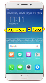 Hard Reset Oppo F1 Plus Recovery Mode