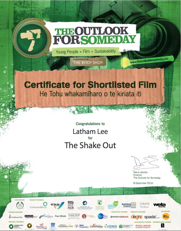 Latham My Certificate From The Outlook For Someday Challenge