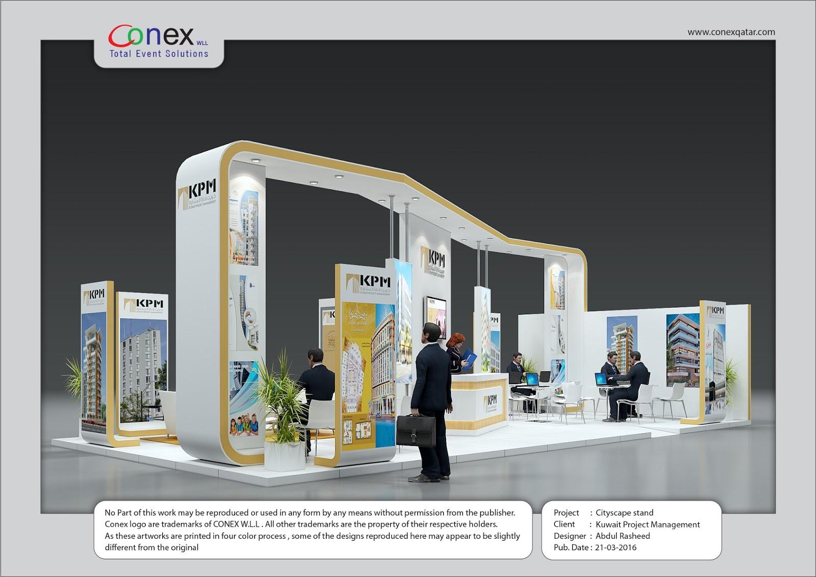 Exhibition Stand In Kuwait : D designer visualizer events exhibitions interiors