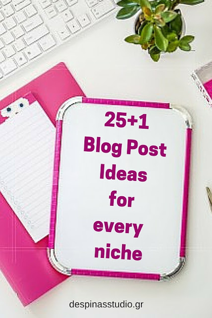26 Blog post ideas for every niche