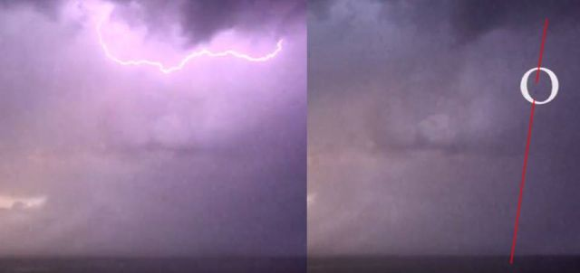 UFO News ~ High Speed UFO emerging from the sea during Thunderstorm plus MORE UFO%2Bemerging%2Bfrom%2BSea