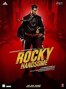 Shruti Haasan, John Abraham New Upcoming movie Rocky Handsome release 2015 Poster