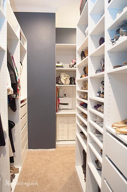 DIY IKEA closet makeover