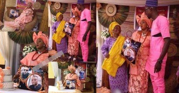 Nigerian woman marry pillow
