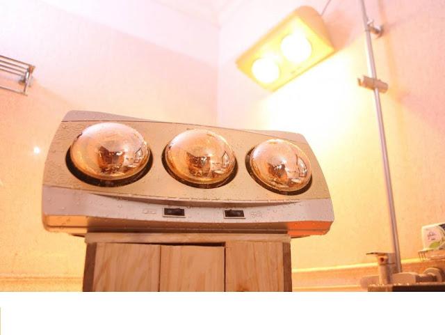 Mua đèn sưởi nhà tắm Hà Nội mùa hè, thử ngay nào