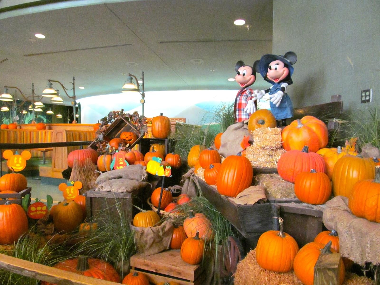 Fall at the Land Pavillion in Epcot at the Walt Disney World Resort - Orlando, FL - Ouroutdoortravels.blogspot.com