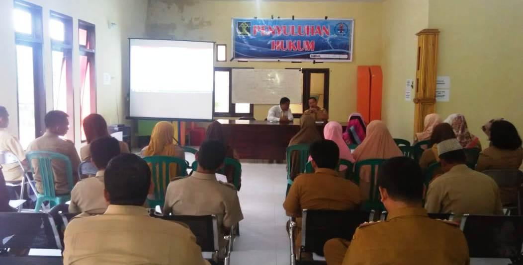 Camat Hadirkan 32 Orang Perwakilan Desa Dan Kelurahan Sekecamatan Baolan di Penyuluhan Hukum Gelaran LBHP Tolitoli