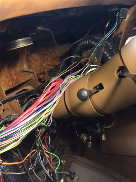 C3 Skunk Works  Dash Wiring Harness Replacement