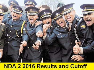 NDA 2 2016 Results and Cutoff Marks