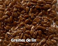Le lin est riche en œstrogène