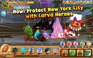 Larva Heroes Lavengers 2017 MOD APK Terbaru (Unlimited Coins/Candy) v1.8.8