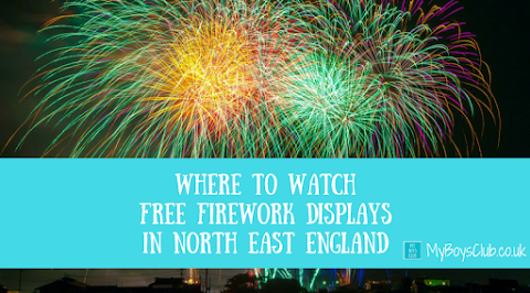 15 FREE Firework Displays in North East England