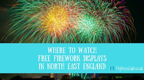 15 FREE Firework Displays in North East England