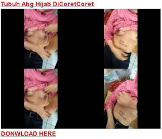 Tubuh Abg Hijab DiCoretCoret Pacarnya