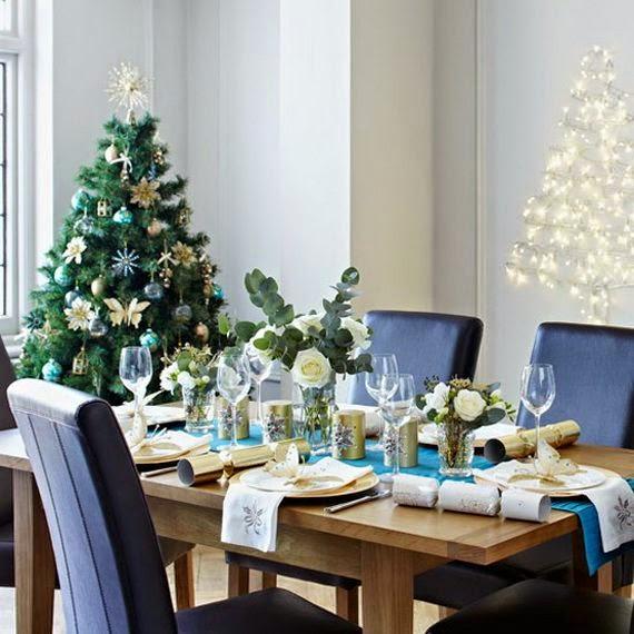 Decoración comedor navidad