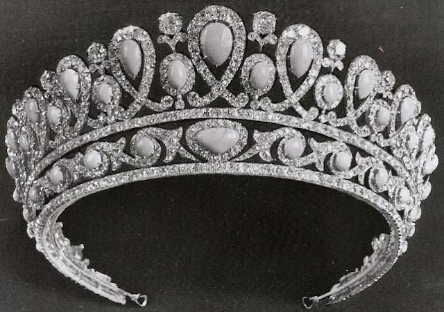 Empress Alexandra Feodorovna of Russia Turquoise Tiara