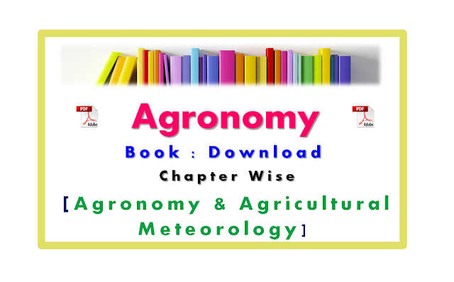 Agronomy Treatise Pdf