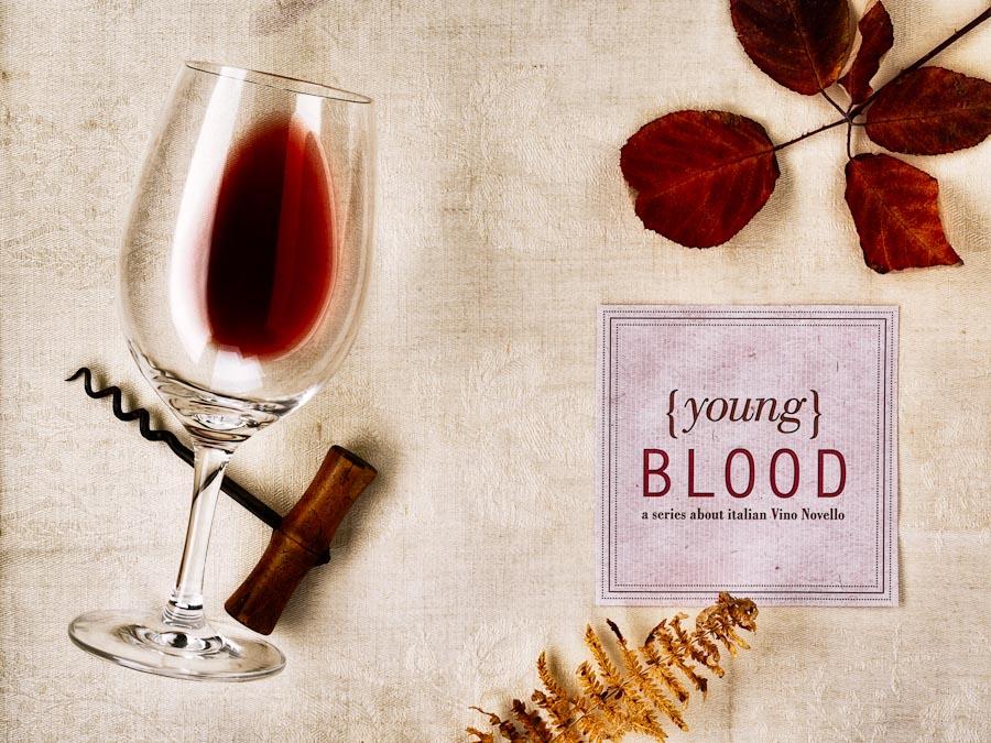 Wine glass, wine, corkscrew