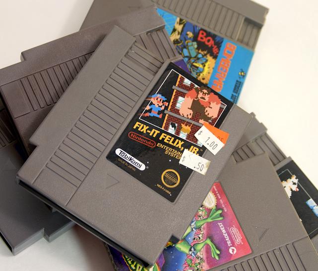 Ribbon Black: Fix It Felix, Jr  (NES)